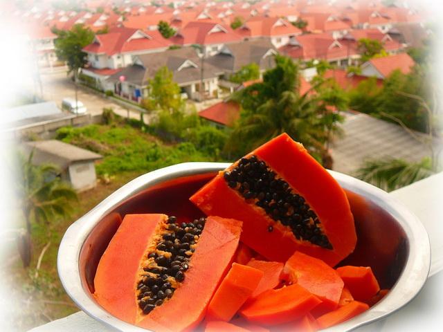 Полезный свойства фруктов - папайя