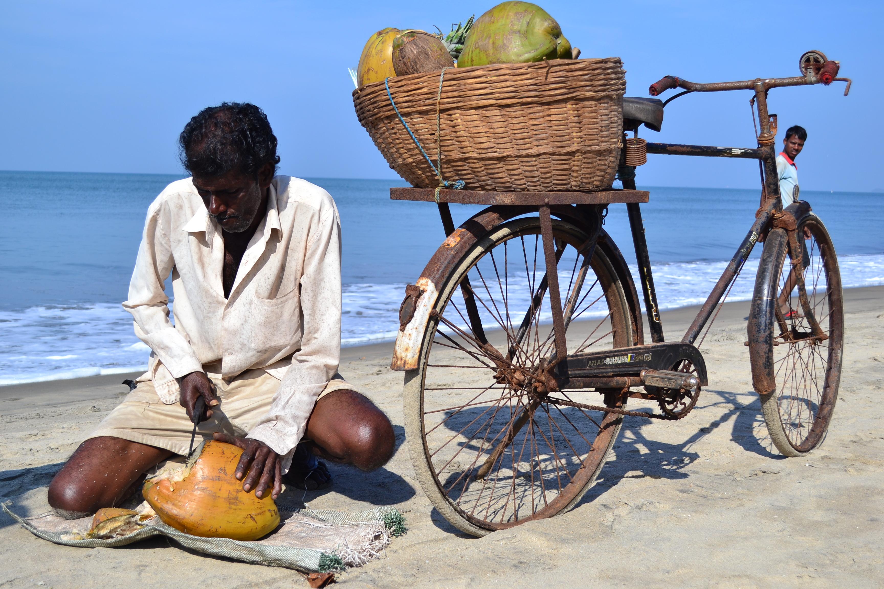 Как открывать кокос