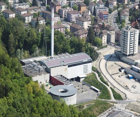 Мусоросжигательный завод в Лозанне