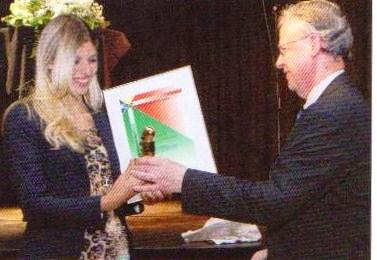 Награждение Карин Берчи от правительства Швейцарии а дело сохранения планеты Земля!
