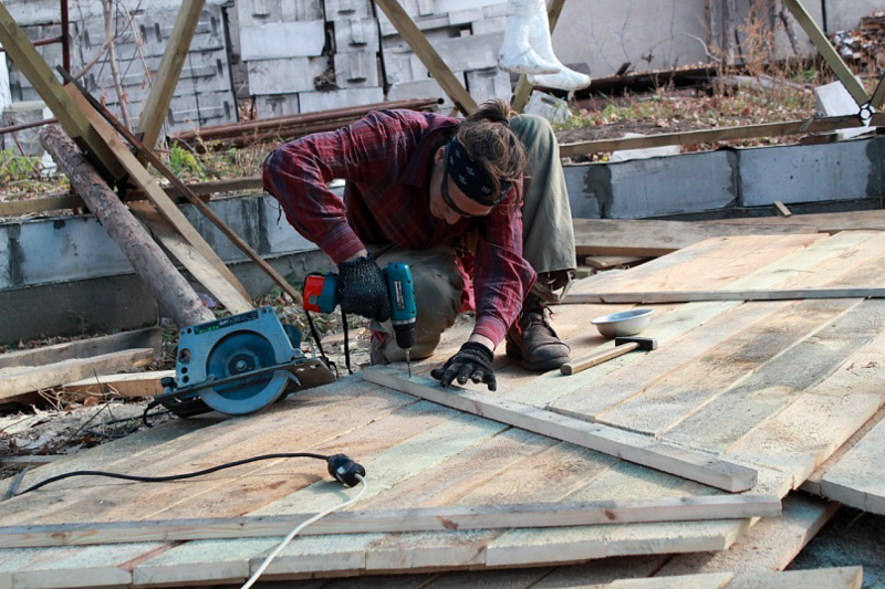 как построить купольный дом самостоятельно